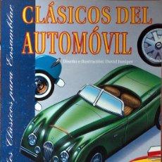 Coleccionismo Recortables: CLASICOS DEL AUTOMOVIL RECORTABLES DAVID JUNIPER SUSAETA 1992 (9 COCHES CLASICOS) RECORTABLE. Lote 211256756