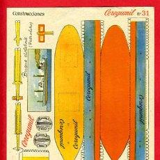 Colecionismo Recortáveis: RECORTABLE BARCO BUQUE CISTERNA , PETROLERO , PUBLICIDAD CEREGUMIL , R39. Lote 46535118