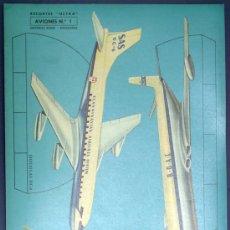 Coleccionismo Recortables: RECORTABLE AVIONES. RECORTES ULTRA Nº 1. EDITORIAL ROMA. BARCELONA, 1961.. Lote 44588366