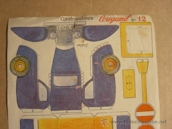 Coleccionismo Recortables: LOTE DE 2 RECORTABLES CEREGUMIL (ALIMENTO VEGETARIANO, FARMACIA) - Foto 3 - 25527257