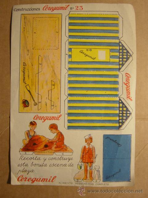 Coleccionismo Recortables: LOTE DE 2 RECORTABLES CEREGUMIL (ALIMENTO VEGETARIANO, FARMACIA) - Foto 4 - 25527257