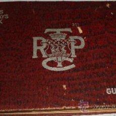 Coleccionismo Recortables: GUIDE OFFICIEL AUTOBUS TRAMWAYS BATEAUX DEL AÑO 1900 CIUDAD DE PARIS. Lote 25782691