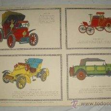 Coleccionismo Recortables: COCHES DE ÉPOCA,RECORTABLES EDICIONES TORAY,PAG.193. Lote 23181714