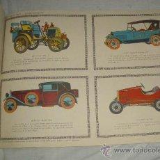 Coleccionismo Recortables: COCHES DE ÉPOCA,RECORTABLES EDICIONES TORAY,PAG.194. Lote 23181779