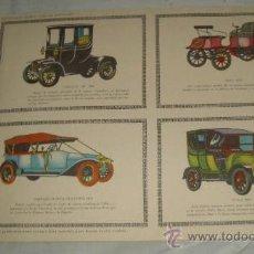 Coleccionismo Recortables: COCHES DE ÉPOCA,RECORTABLES EDICIONES TORAY,PAG.195. Lote 23181891