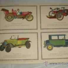 Coleccionismo Recortables: COCHES DE ÉPOCA,RECORTABLES EDICIONES TORAY,PAG.196. Lote 23181927
