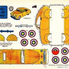 Coleccionismo Recortables: RECORTABLE MODELO INGLES DE TURIMO ED. BRUGUERA. Lote 24153883