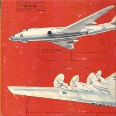 Coleccionismo Recortables: RECORTES ULTRA * AVIONES Nº 6 * ROMA 1961. Lote 25032435