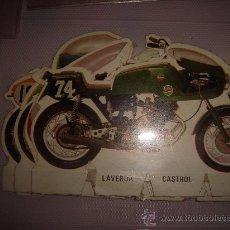 Coleccionismo Recortables: LOTE RECORTABLES DE MOTOS O MOTO. Lote 26159453
