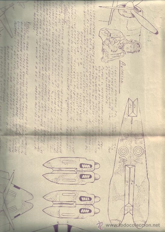 RECORTABLE DE UN AVION .DE J,RABASCALL BEORTEGUI,BARCELONA. (Coleccionismo - Recortables - Transportes)