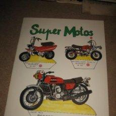 Coleccionismo Recortables: SUPER MOTOS RECORTABLES DE HOY ED.BAUSAN 1979. Lote 29554498