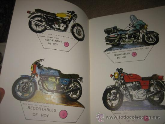 Coleccionismo Recortables: SUPER MOTOS RECORTABLES DE HOY ED.BAUSAN 1979 - Foto 2 - 29554498