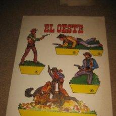 Coleccionismo Recortables: EL OESTE RECORTABLES DE HOY ED.BAUSAN 1979. Lote 29554589