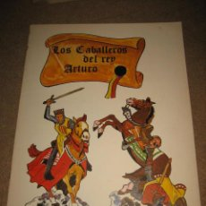 Coleccionismo Recortables: LOS CABALLEROS DEL REY ARTURO RECORTABLES DE HOY ED.BAUSAN 1979. Lote 29554657