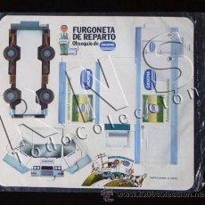 Coleccionismo Recortables: RECORTABLE - FURGONETA DE REPARTO DE DANONE - PRECINTADO - PUBLICIDAD - JUGUETE - TRANSPORTE. Lote 38553579