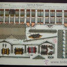 Coleccionismo Recortables: RECORTABLES LA TIJERA.- ESTACIÓN DE FERROCARRIL.- SERIE I10 Nº 39.- TAMAÑO 33 X 24 CM.. Lote 30708635