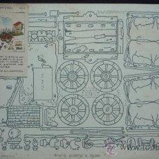 Coleccionismo Recortables: RECORTABLE PINTO, CORTO Y PEGO, DE SEIX BARRAL HNOS. S.A. TAMAÑO 32 X 24 CM.. Lote 30690550