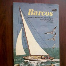 Coleccionismo Recortables: RECORTABLE-BARCOS-UN INGENIOSO LIBRO DE ORO-EDITORIAL NOVARO-19X33. Lote 32602552