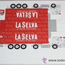 Collectables Paper Dolls - RECORTABLE TROQUELADO: CAMION DE REPARTO - 32810725
