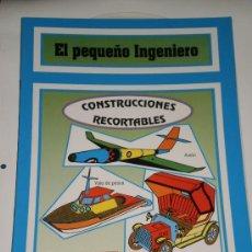 Coleccionismo Recortables: EL PEQUEÑO INGENIERO-CONSTRUCCIONES RECORTABLES-EDICIONES CUENTICOLOR . AÑO 1994. Lote 33734696