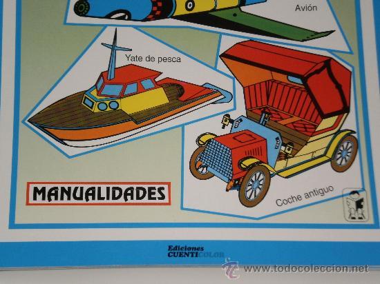 Coleccionismo Recortables: EL PEQUEÑO INGENIERO-CONSTRUCCIONES RECORTABLES-EDICIONES CUENTICOLOR . AÑO 1994 - Foto 2 - 33734696