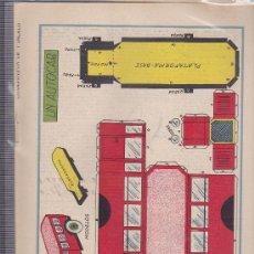 Coleccionismo Recortables: RECORTABLE AUTOCAR REVISTA MACACO Nº 106. Lote 34639854
