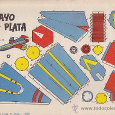Coleccionismo Recortables: RECORTABLE BRUGUERA 23.50 CMS X 16.50 CMS RAYO DE PLATA. Lote 38957250