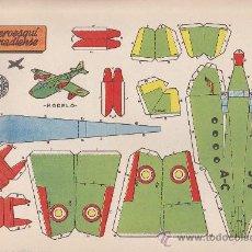 Coleccionismo Recortables: RECORTABLE BRUGUERA 23.50 CMS X 16.50 CMS AEROESQUI CANADIENSE. Lote 35413004
