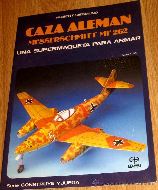 RECORTABLE CAZA ALEMÁN HUBERT SIEGMUND EDAF AÑO 1987 (Coleccionismo - Recortables - Transportes)