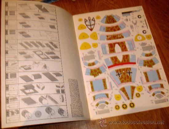 Coleccionismo Recortables: INTERIOR DEL RECORTABLE - Foto 2 - 36797559