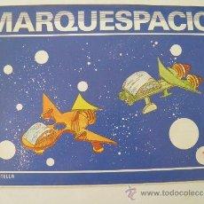Coleccionismo Recortables: MARQUESPACIO Nº 1. NAVES ESPACIALES CASTOR Y POLUX. EDITORIAL SALVATELLA, BARCELONA. Lote 37629451