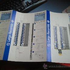 Coleccionismo Recortables: RECORTABLE TREN DE CERCANIAS INTERCITY. Lote 38194092