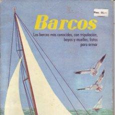 Collectionnisme Images à Découper: RECORTABLE-BARCOS-UN INGENIOSO LIBRO DE ORO-EDITORIAL NOVARO- AÑOS 30. Lote 39736658