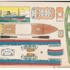Coleccionismo Recortables: LAMINA NAUTICA RECORTABLE - 21 X 30CMS.. Lote 40450839