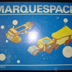 Coleccionismo Recortables: CUADERNO DE MARQUETERÍA SALVATELLA MARQUESPACIO Nº 4 AÑO 1985 NUEVO NAVE LEPUS Y L=1. Lote 41696139