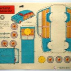 Coleccionismo Recortables: RECORTABLE BRUGUERA. EDICION DEL AÑO 1959. TURISMO CANADIENSE.. Lote 43765371