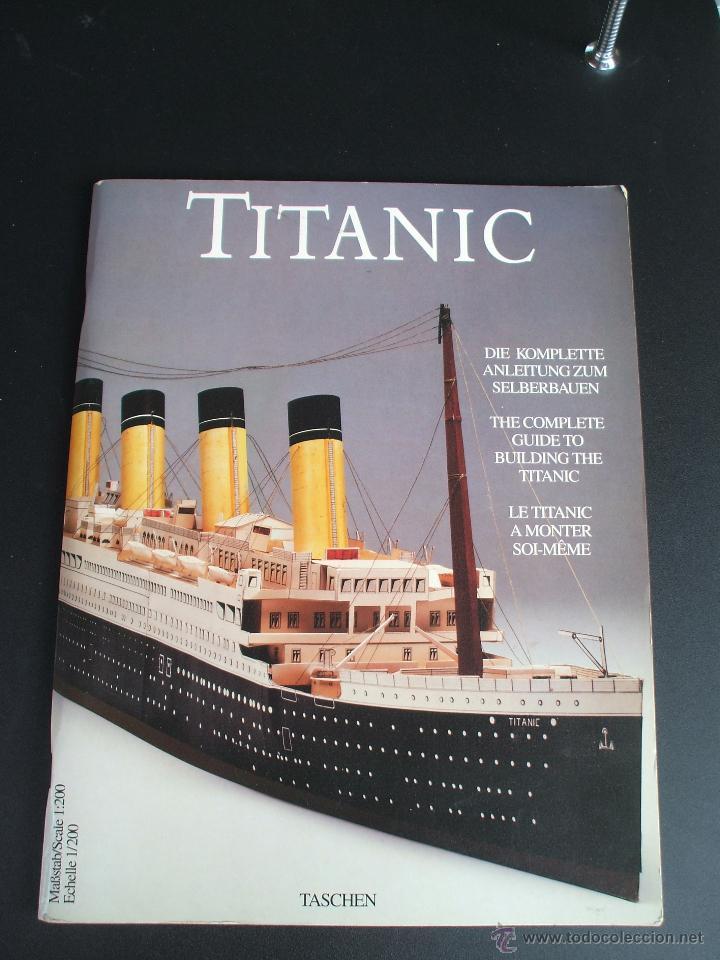 EL TITANIC BARCO A ESCALA 1/200 (Coleccionismo - Recortables - Transportes)