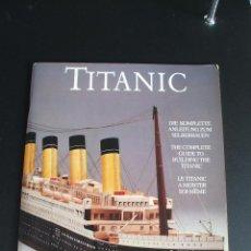 Coleccionismo Recortables: EL TITANIC BARCO A ESCALA 1/200. Lote 44067240