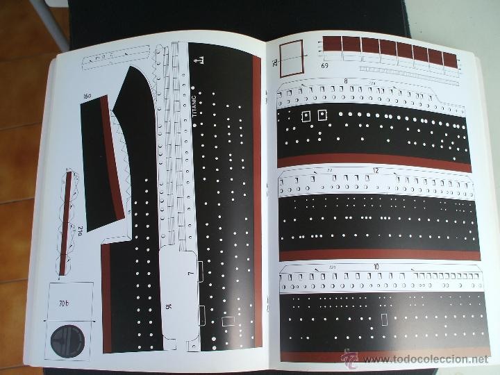 Coleccionismo Recortables: EL TITANIC BARCO A ESCALA 1/200 - Foto 3 - 44067240
