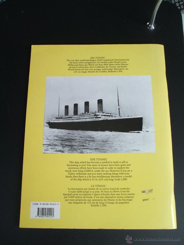Coleccionismo Recortables: EL TITANIC BARCO A ESCALA 1/200 - Foto 4 - 44067240