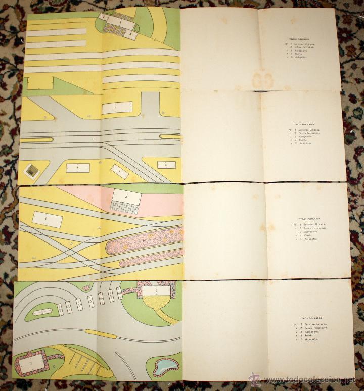 Coleccionismo Recortables: LOTE DE 4 NUMEROS RECORTE JUGUETE (EL CONSTRUCTOR) EDITORIAL ROMA. BARCELONA, 1960 - Foto 4 - 45634357