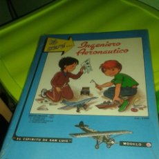 Coleccionismo Recortables: RECORTABLE YO SERE INGENIERO AERONAUTICO FHER AVION EL ESPIRITU DE SAN LUIS MODELO 4. Lote 46118203