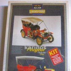Collectables Paper Dolls - Peugeot Type 81 1906. Recortable Alcan serie oro. 300 piezas. 47 cm. escala 1/8 - 48190080