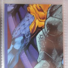 Coleccionismo Recortables: TRADING CARD MARVEL AVENGERS HERO ATTAX PUZZLE. Lote 51011695