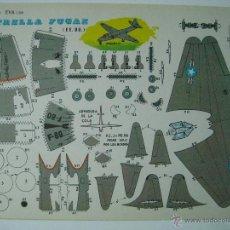 Coleccionismo Recortables: RECORTABLES EVA ESTRELLA FUGAZ (EE. UU.) 2209. 1965.. Lote 132740461