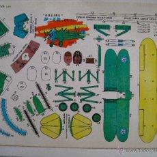 Coleccionismo Recortables: RECORTABLES EVA. BOEING P-12 (EE.UU.) 2205. 1965.. Lote 115253972