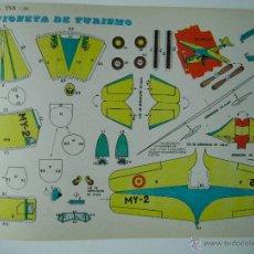 Coleccionismo Recortables: RECORTABLES EVA. AVIONETA DE TURISMO 2203. 1965.. Lote 115253910