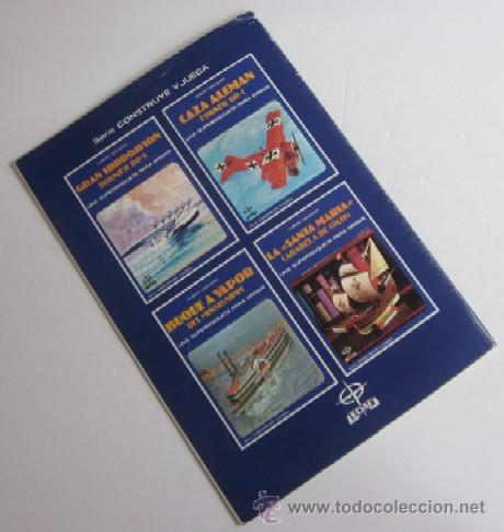 Coleccionismo Recortables: LA SANTA MARIA - CARABELA DE COLON, UNA SUPERMAQUETA PARA ARMAR - Foto 4 - 51930971