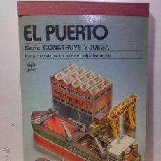 Coleccionismo Recortables: EDAF RECORTABLE PUERTO MARITIMO. Lote 53752474