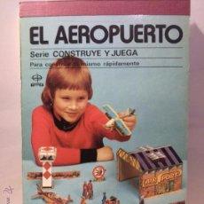 Coleccionismo Recortables: EDAF RECORTABLE AEROPUERTO. Lote 53752491